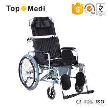 Cadeira de rodas cômoda manual de venda