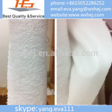 terry cloth pu coated mattress cover/protector fabric