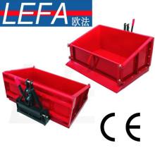 Caixa do transporte do trator do metal da caixa de derrubada de 3 pontos