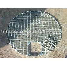 Grelha de aço redonda galvanizada