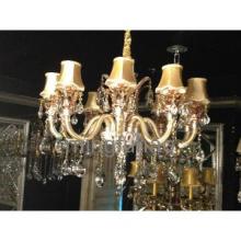 Modern style white glass tube pendant lamp