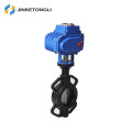 2017 Hot sale JKTL high temperature butterfly valve metal seat dn250 for hot air