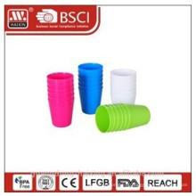copo plástico, jogo de 0,24 L 6 pcs /
