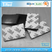 customized anti slip PU sticky gel pad sheets and roll with 3M gummed