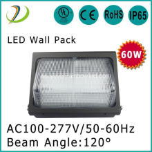 120 grados 120W LED de pared DLC paquete