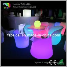 Mobilier LED Glow (BCG-517T, BCG-321C, BCG-322C)