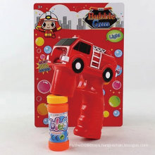 Music Electric Outdoor Summer Toy Fire Truck Bubble Gun Toy