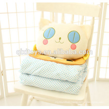 Multi-use beach blanket plush pillow creative birthday gift for girls