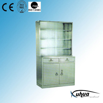 Stainless Steel Hospital Medical Appliance Cupboard (U-11)
