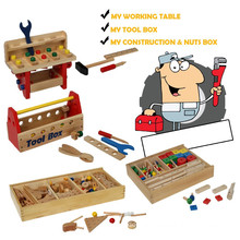 Wooden Tool Set Spielzeug