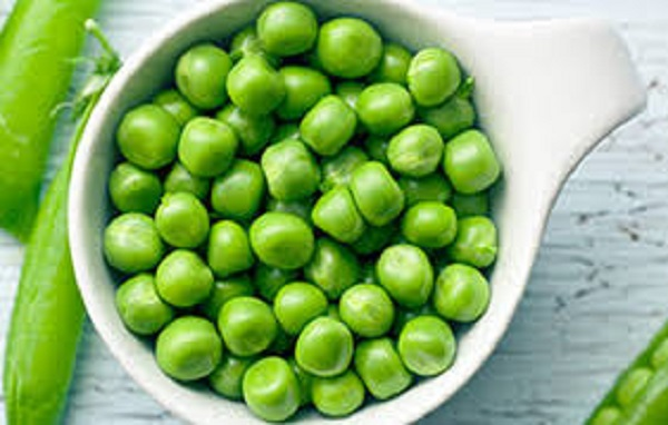 Pesticide-free Green Peas