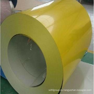 Bobina de acero recubierta de color de Hebeiyanbo