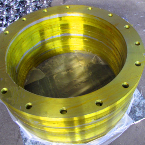 DIN 2632 PN10 Plat Stainless Steel Tempa Flange