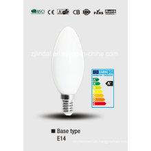 Lâmpada de LED vela copo cheio C37-Qb