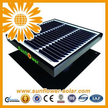 Ventilador solar de acero inoxidable a estrenar de 30 w galvanizado con precio bajo