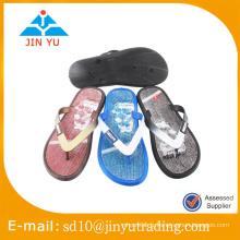 2016 China factory price latest design PCU semelle extérieure flip flop sandal zapatilla