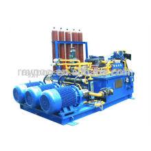 Industrieanlagen große hydraulische Aggregate
