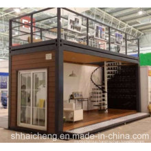 Modular Houses Made From Flat Pack Containers