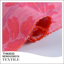 En gros nouveau beau tissu tissé floral 100% coton jacquard