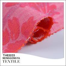 Atacado novo tecido bonito tecido jacquard 100% algodão floral