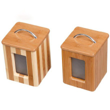 OEM for Bamboo Airtight Container,Bamboo Hermetic Container,Bamboo Sealing Box  Manufacturers and Suppliers in China Bamboo airtight canister with visible window export to Turkey Factory