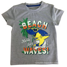 Beach Baby T-Shirt Boy T-Shirt in Children Clothing with Comfortable Quality Sqt-609