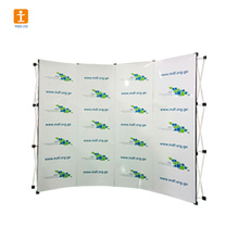 Fabric Pop Up Aluminum Profile Promotion Display Counter