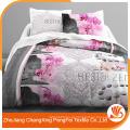 Folha de cama de alta qualidade 100% poliéster à venda