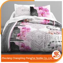 Feuille de lit 100% polyester haute qualité à vendre