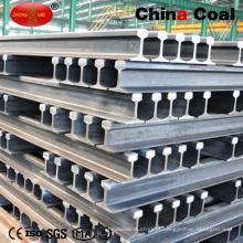 Alta qualidade! ! ! Trilho de aço da luz da trilha de estrada de ferro do material 15kg / M Q235