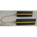 Ruedas de goma sólida 456 * 158 * 134 mm con tira y cadena