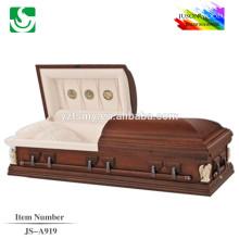 JS-A919 luxury personalized casket supplier