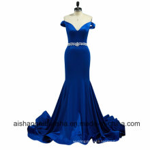 Women V-Neck Mermaid Long Sexy Evening Party Prom Dresses