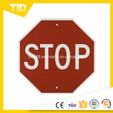 Panneau d'arrêt Label réfléchissants pour la sécurité routière