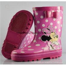 Niños No-Slip botas de lluvia de goma 001