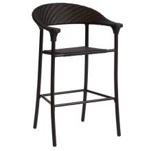 Selles de chaise de jardin en plein air Bar en osier Patio meubles rotin
