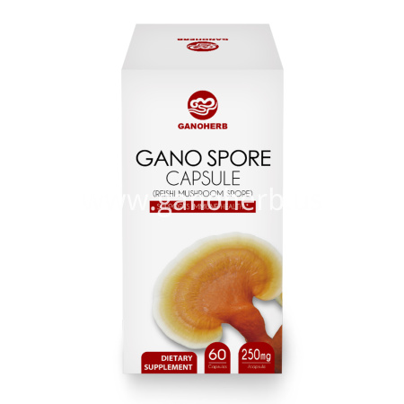 Organic Certificated Shell Broken Ganoderma Lucidum/reishi mushroom Spores Powder Capsules