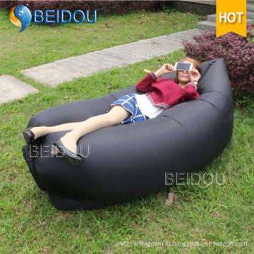 Семейные друзья Пары Hangout Быстрая надувная банановая кровать для сна