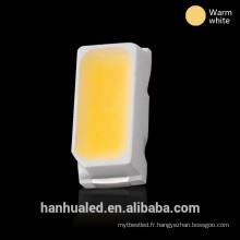 Tension émettrice blanche chaude de la diode SMD 3014 LED 2.0-2.4 pour la lumière de panneau de LED