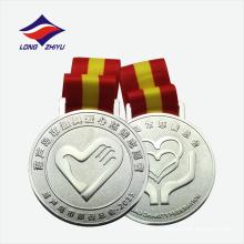 Presentes de lembranças promocionais medalha de metal personalizada