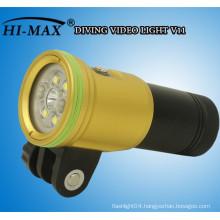 HI-MAX 2400 lumen dive Video/photo light