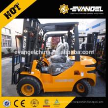 Полуавтомат переменного тока 2 тонны HUAHE Электрический вилочный погрузчик CPD20 грузовик HEF20