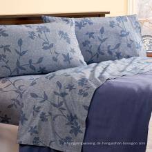 Luxus Baumwolle Jacquard Queen Sheet