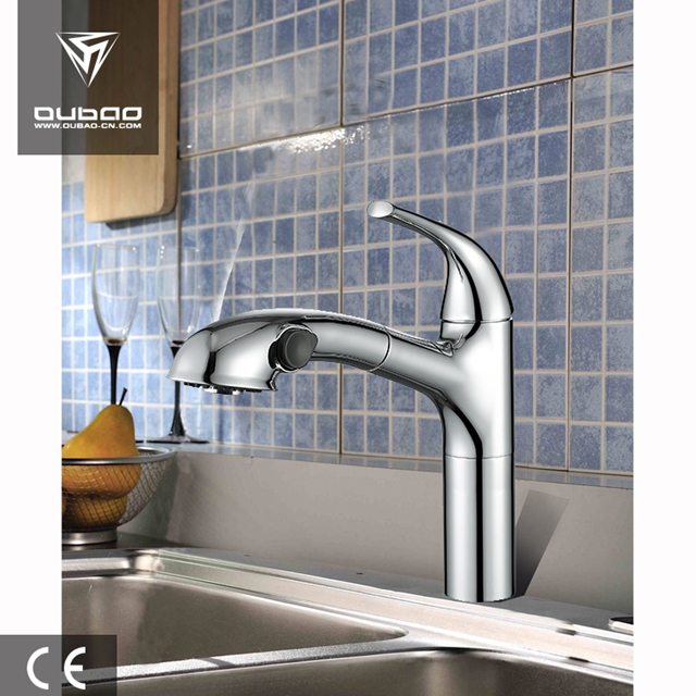 Pull Out Kitchen Mixer Taps Ob D39