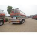 33.6 tons aluminum alloy fuel tanker trailer