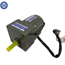 80mm Gear Reduction Electric Brake AC Motor with Gearbox 25W