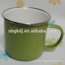 Army Green color 450ml enamel mug