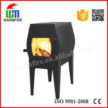 Indoor Free Standing Cast Iron Wood Burning Fireplace