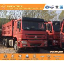 SINOTRUK HOWO 371hp sand transport truck