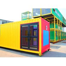 Casa de contenedores profesional prefabricados / vivienda de 20 pies
